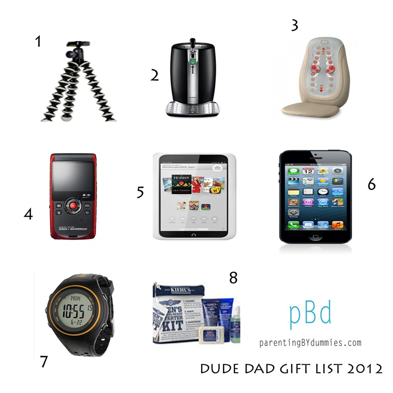 2012 dude dad gift list best holiday gifts for dudes dude mom