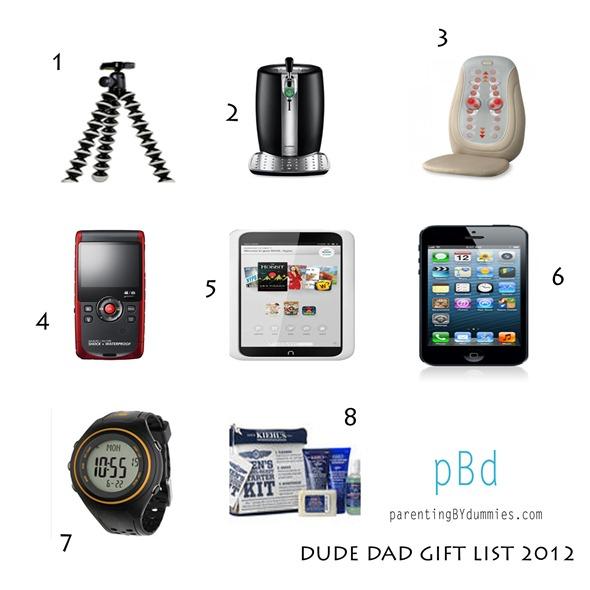 2012 dad gift list