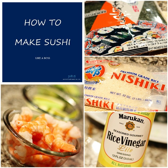 sushi ingredients list