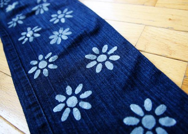 diy printed jeans