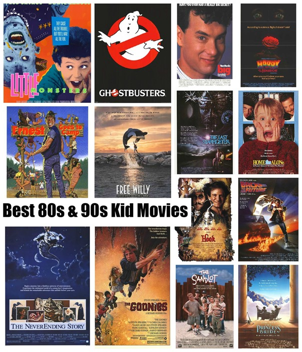 best 80s & 90s kid movies