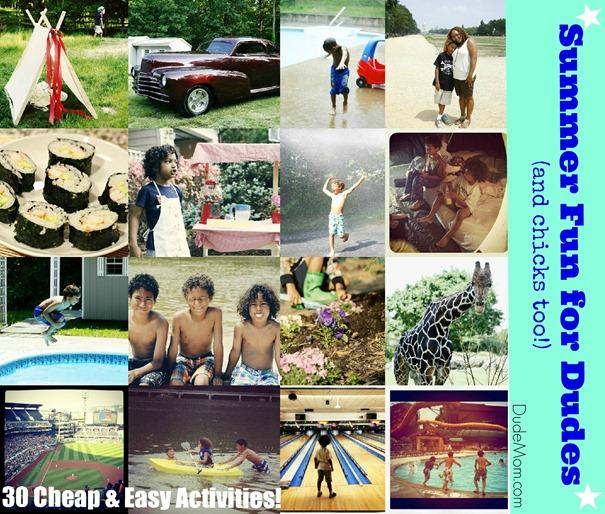 fun summer activities kids