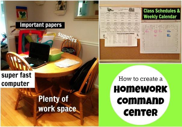homework organization tips