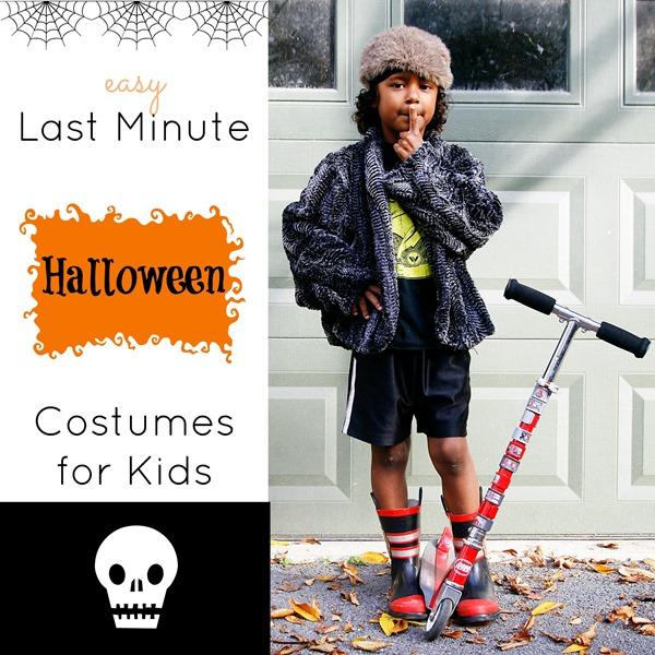 easy halloween costumes kids