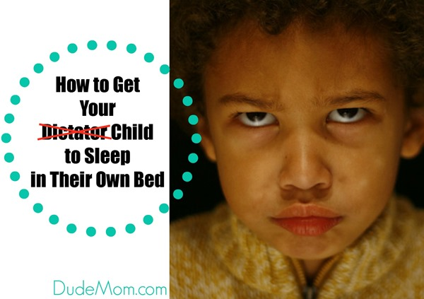 get child sleep in own bed
