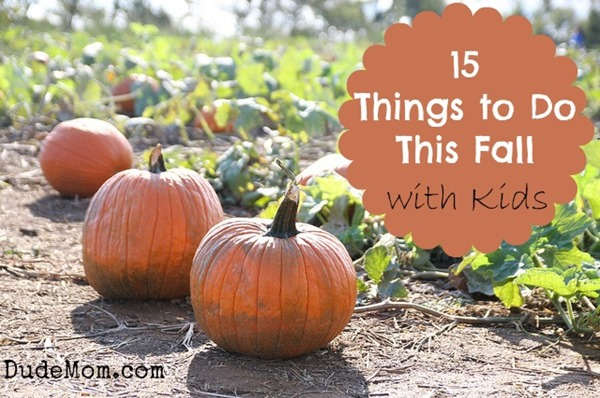 things to do in fall with kids