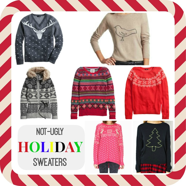 Real Mom Style. Stylish Holiday Sweaters. - dude mom