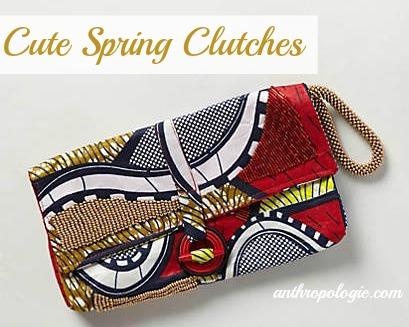 cute spring clutches