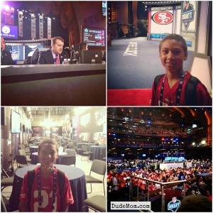 Awesomeness. The NFL Draft & Dude 2's First Post.
