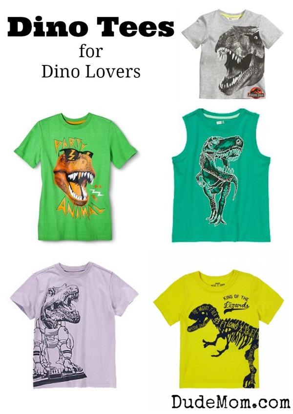 dino tees for boys