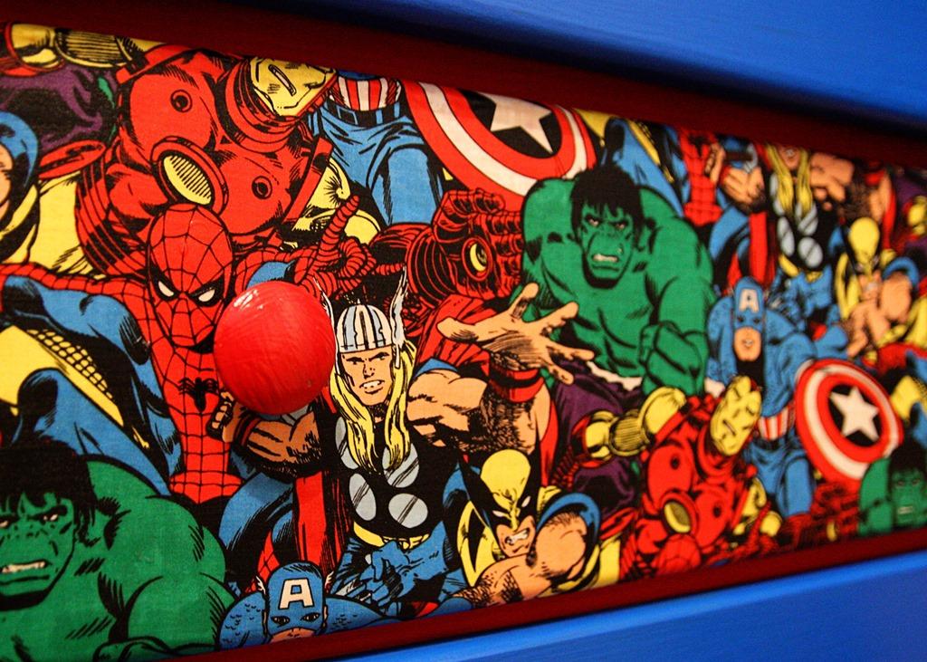 Boys Room Ideas Diy Superhero Dresser Makeover