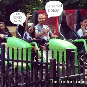 Busch Gardens, Williamsburg: I Cried a Little, Whatever.