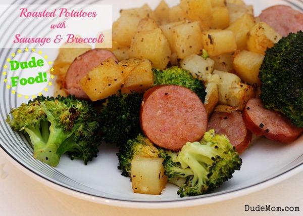 roasted potato meal
