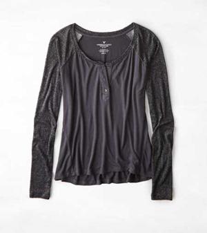 ae glitter shirt