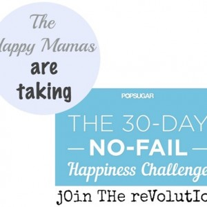 Challenge Accepted: The 30 Day No-Fail Happiness Challenge via PopSugar