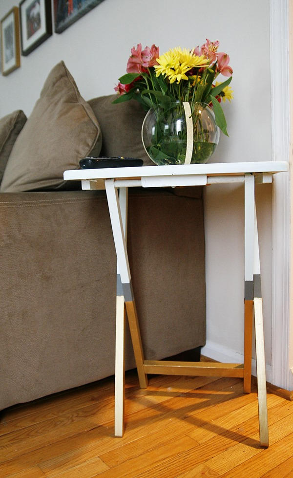 diy tv tray