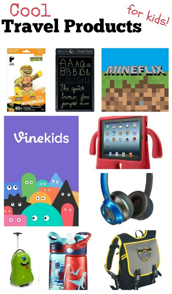 travel products kids