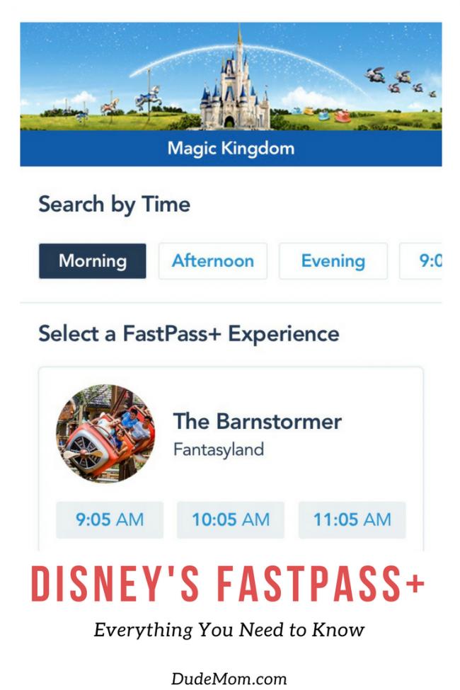 Disney FastPass Plus