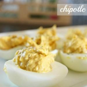 Chipotle Deviled Eggs Recipe