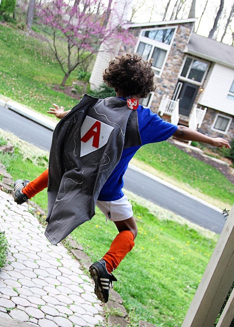 super hero costume boys