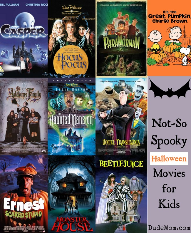 10 not so scary halloween movies for kids who are fraidy cats - Top Kids Halloween Movies