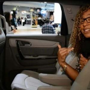 Chevy Traverse & the Washington Auto Show