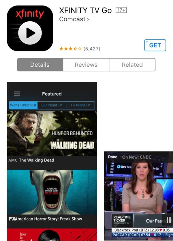comcast app