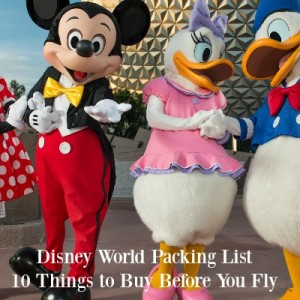 Disney Vacation Packing List: Money Saving Must Haves