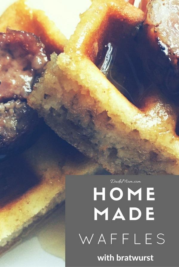 Homemade waffle recipe