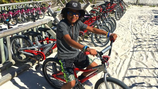 biking castaway cay