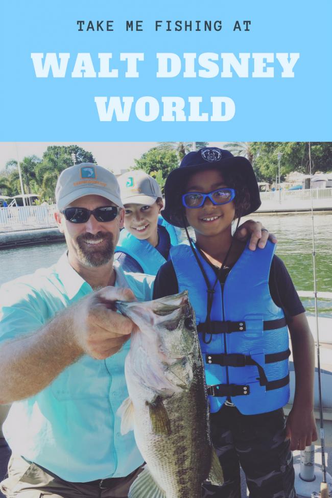 disney world fishing adventure