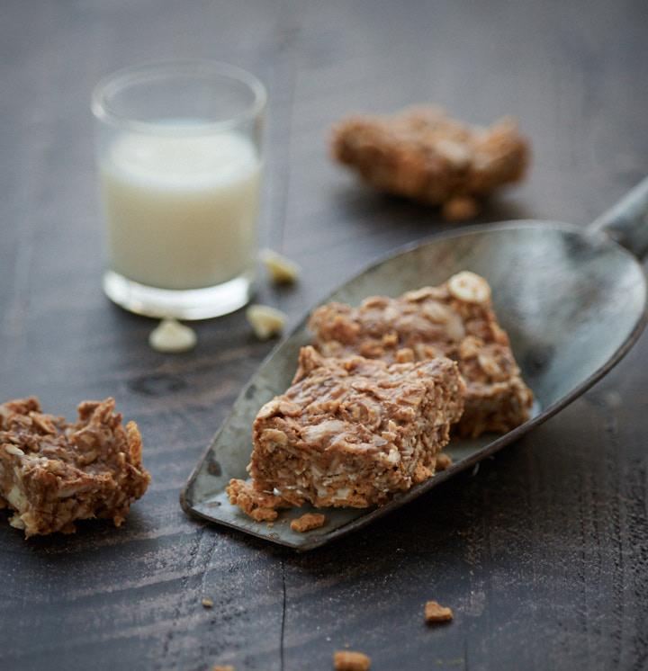 White Chocolate Honey Grahams No Bake Cereal Bars