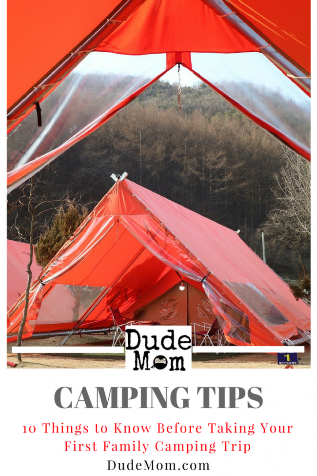 First Camping Trip: Tips for families