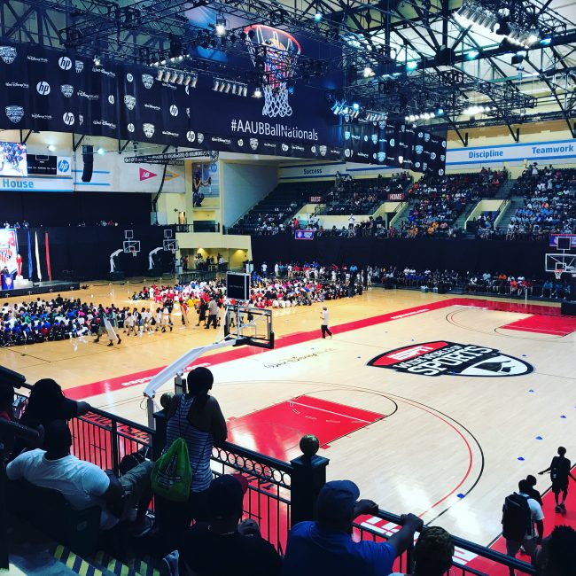 ESPN Wide World of Sports Basketball Tournament