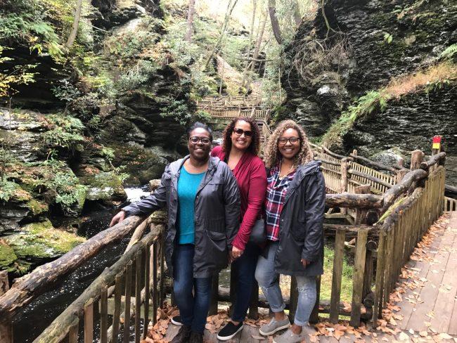 Visit the Poconos: Bushkill Falls