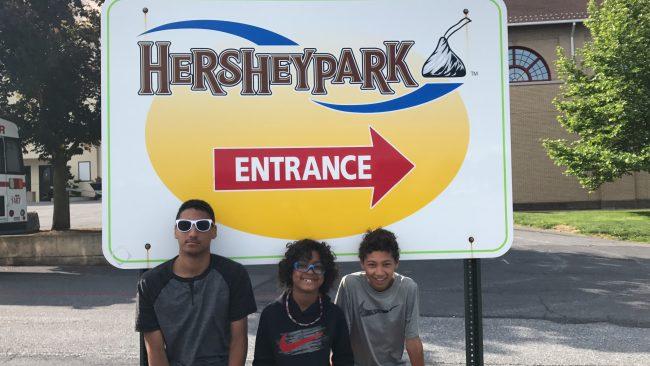 Hersheypark in Hershey, Pennsylvania