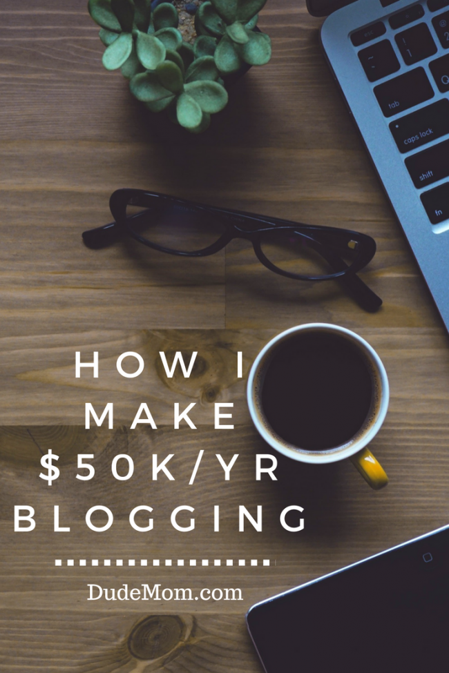 How I Make Money Blogging: My $50k/yr Income