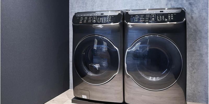 samsung flexwash and flex dry laundry system