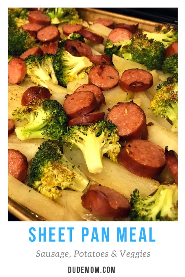 Weeknight meals: sheet pan dinner