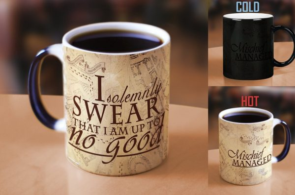 Harry Potter Gifts: Color Revealing Coffee Mug