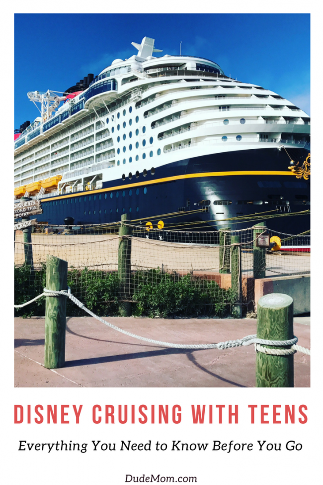 Disney Cruise with Teens: 10 Things Your Teens will Love Onboard