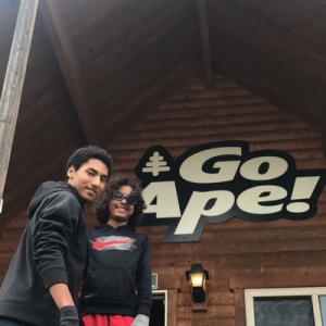 Zip Lining in Maryland: Go Ape Treetop Adventures in Rockville