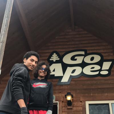 Go Ape Treetop Adventure Zip Lining in Maryland