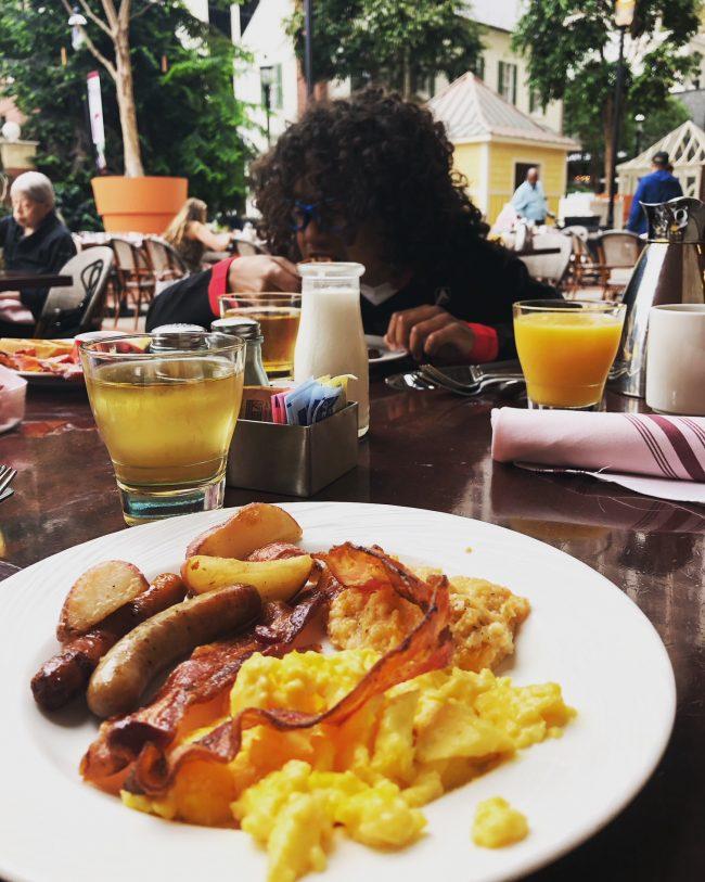 Washington DC with Kids: Gaylord National Hotel Restaurant Pienza