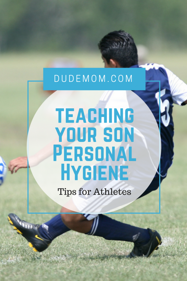 Tips for teaching your active son personal hygiene