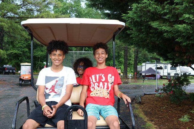 Yogi Bear's Jellystone Camp Luray Golfcart