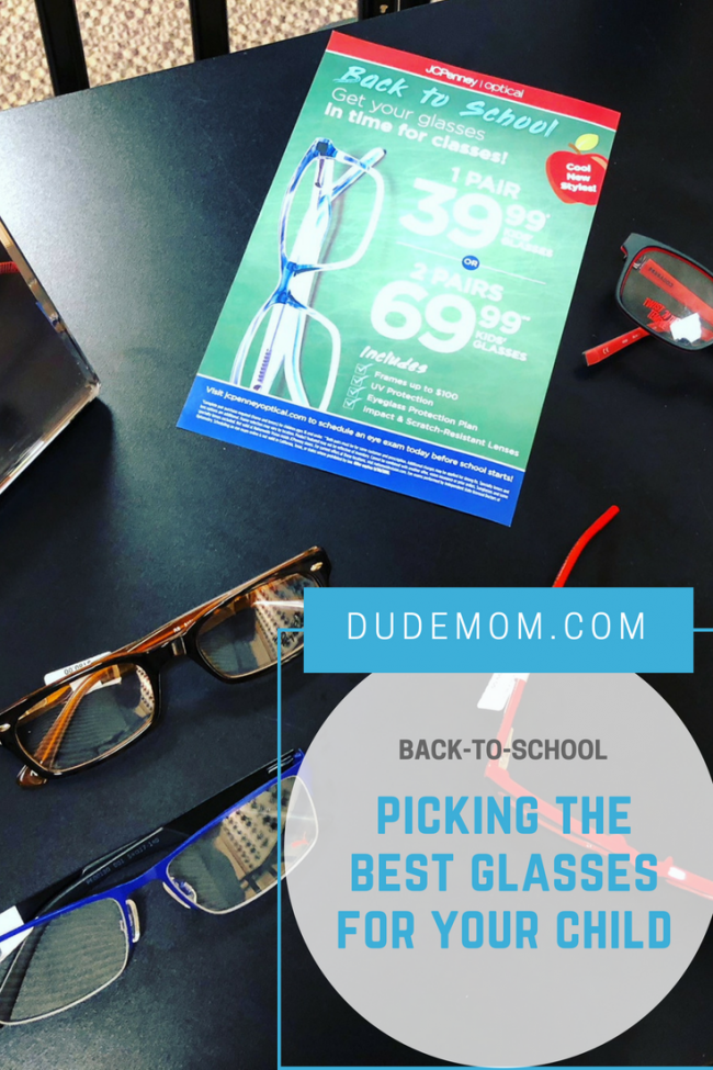 best glasses for kids JCPenny Optical