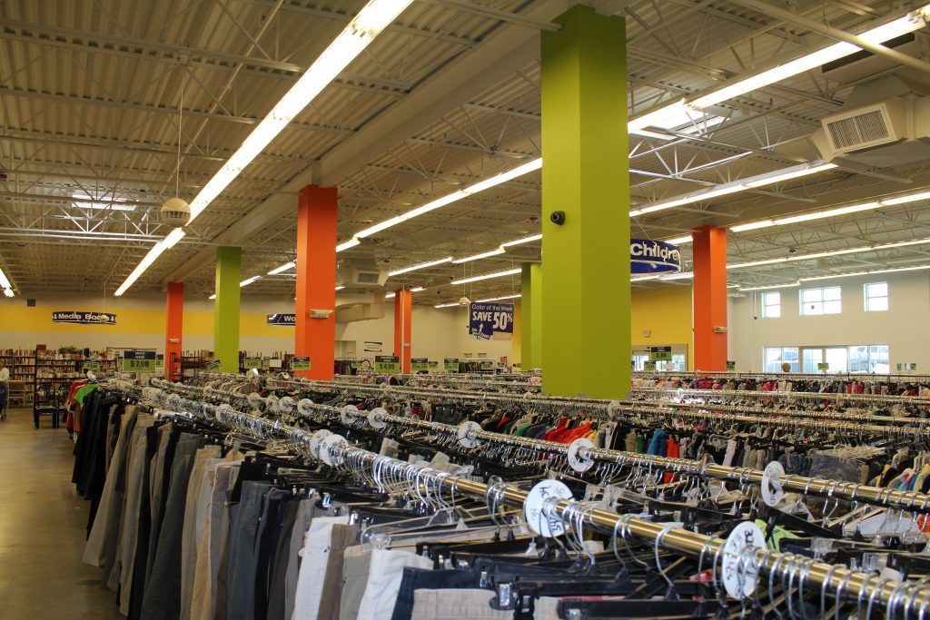 Goodwill Shopping: How to Save Money on Kids Clothes