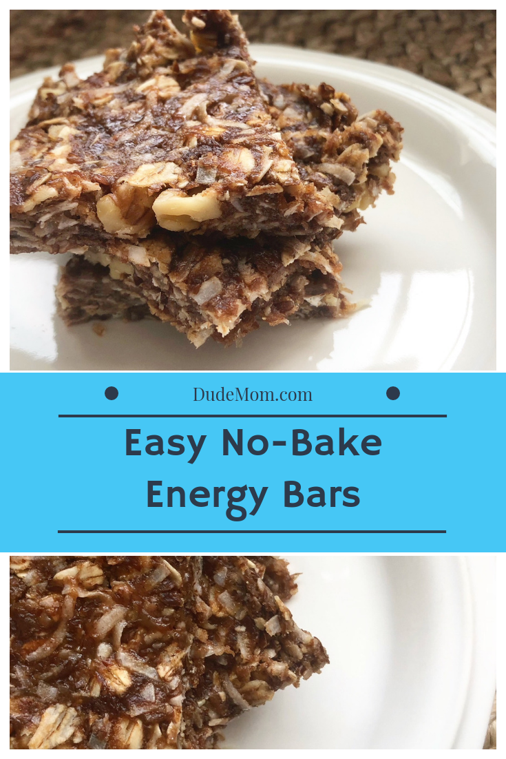 Easy 10-Minute No Bake Energy Bars