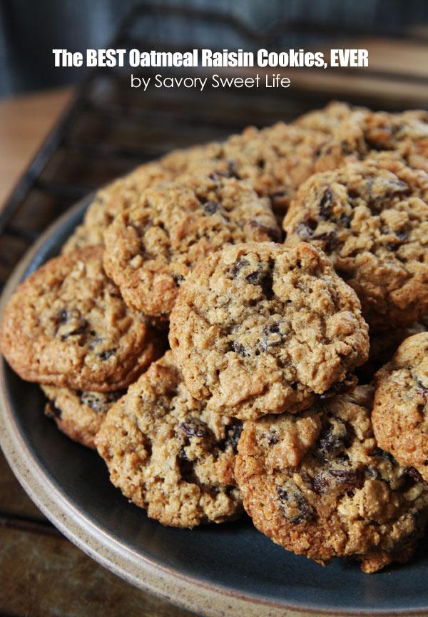 Best Christmas Cookies: Oatmeal Raisin